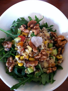 The Quinoa Arugula Salad at Rice Manhattan Beach