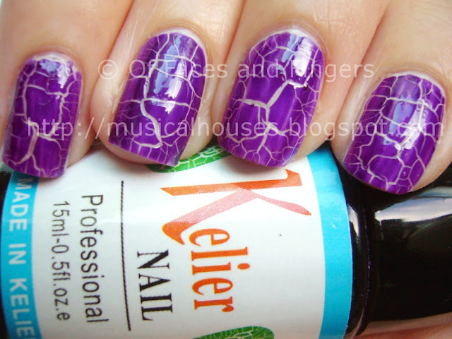 Kelier Purple Shatter Polish