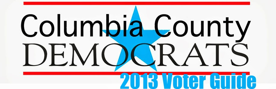 Visit Our 2013 Voter Guide