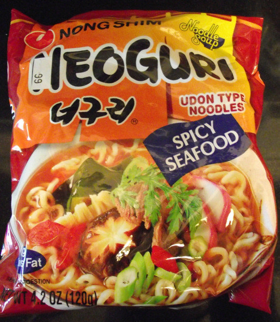 Ramenator nongshim neoguri spicy seafood flavor for Asian cuisine hoover al