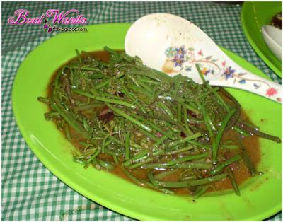Midin goreng sarawak, sedap best murah segar