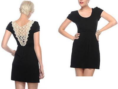 """""""vestido-básico-preto-com-detalhe-de-renda""""-www.alinhavosdemoda.com.br"""