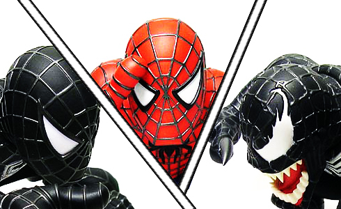 The Amazing Spider-Man: Spiderman Black Suits VS Venom Suit