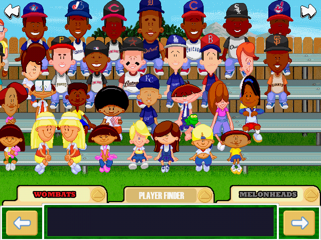 Wheeler Backyard Baseball Backyard Baseball 2001 Draft