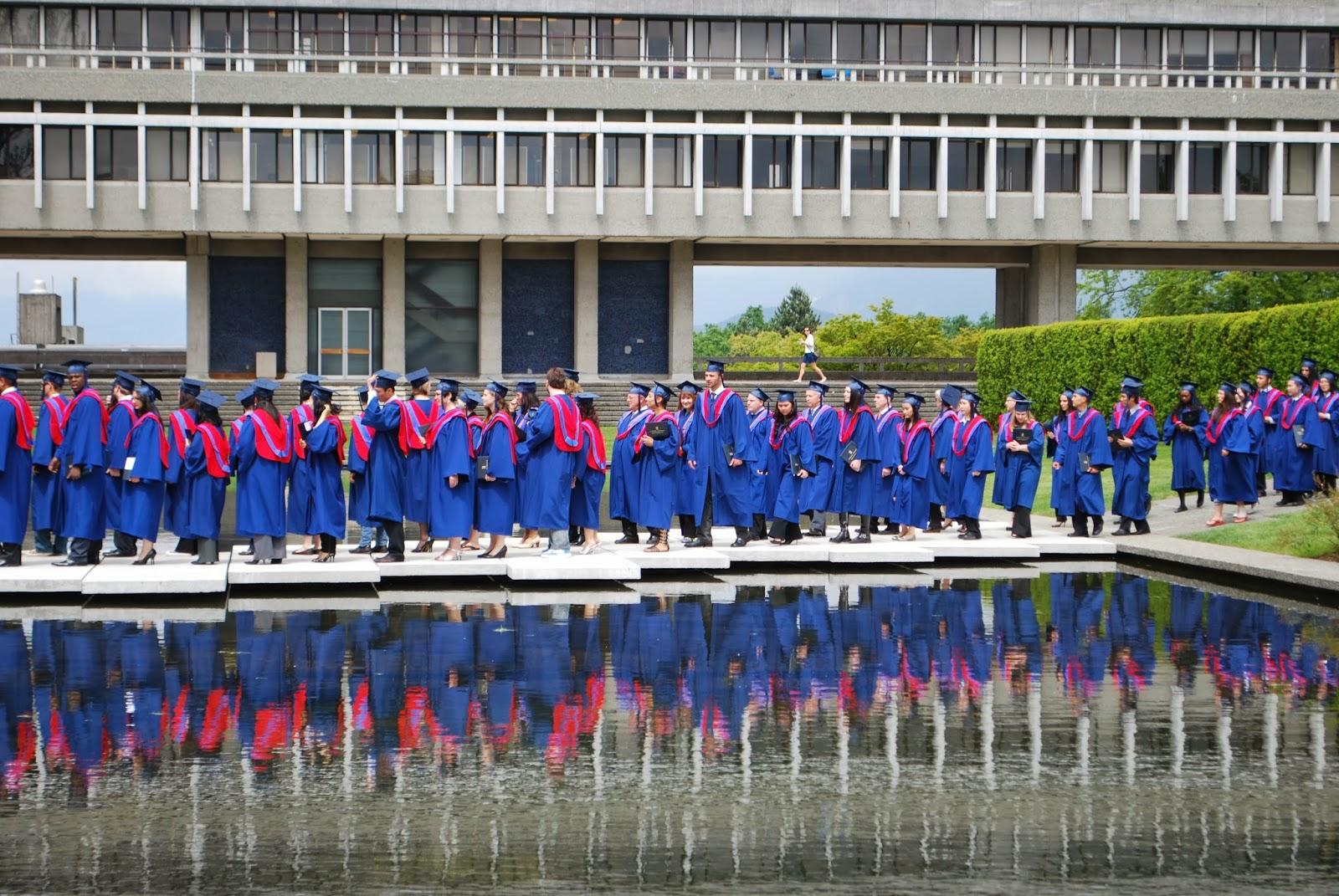graduates line-up