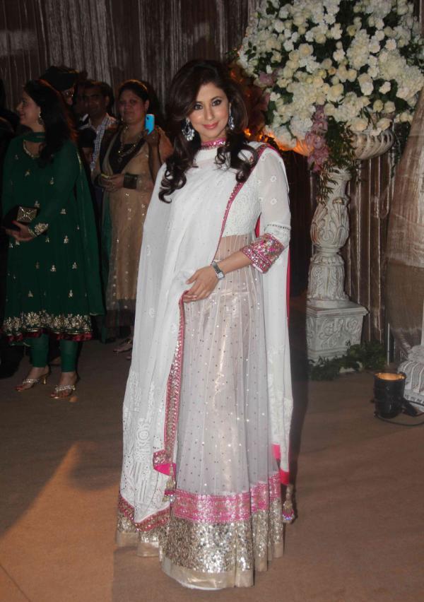 , Urmila Matondkar At Dheeraj Deshmukh Wedding Reception