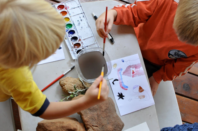 Anytime art. simple ways to explore and create!