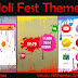Holi Fest Theme For Nokia  X2-00,X2-02,X2-05,X3-00,C2-01,2700,206,301,6303,2730,2710 & 240*320 Devices