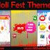 Holi Fest Theme For Nokia  X2-00,X2-02,X2-05,X3-00,C2-01,2700,206,301,6303,2730,2710 & 240*320 Devices