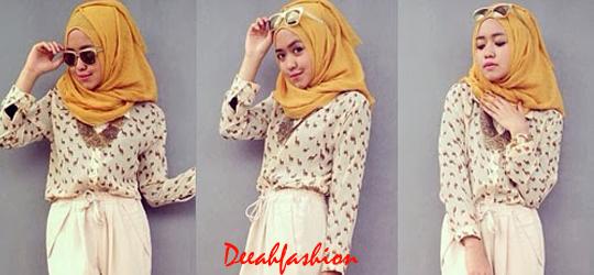 Baju Kantor Muslim Remaja Chic