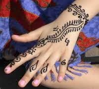 Simple Mehandi Designs For Hand