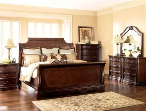 Wooden bedroom furniture designs