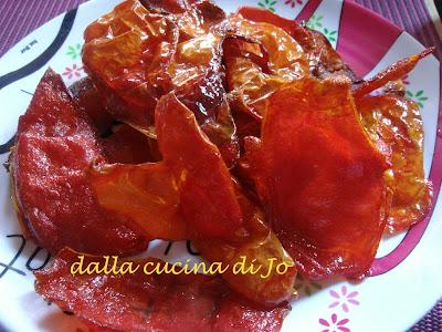 bucce di pomodoro fritte
