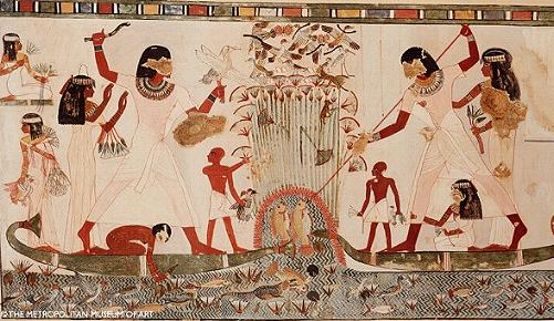 Egipto INFUENCIA EXTATERRESTRE Pintura-tumba-de-menna%2B%25281%2529