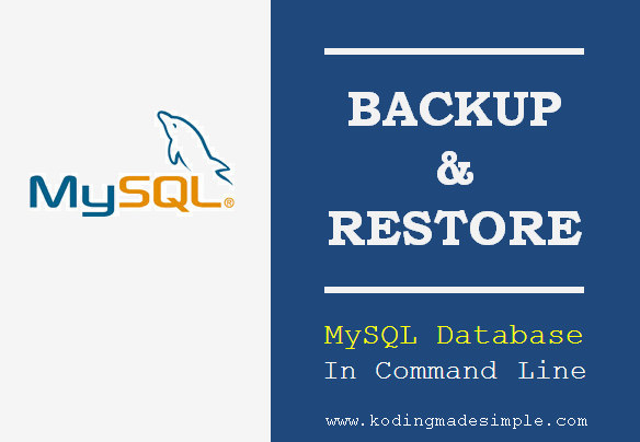 how-to-backup-restore-mysql-database-command-line