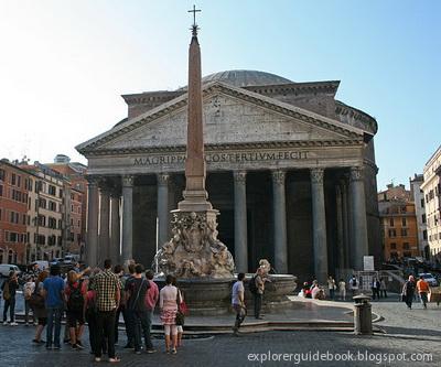 Pantheon Roma Italia