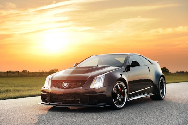 Hennessey's 1,226-BHP-Cadillac-CTS-VR1200 - a performance-tuned-Cadillac CTS-V.
