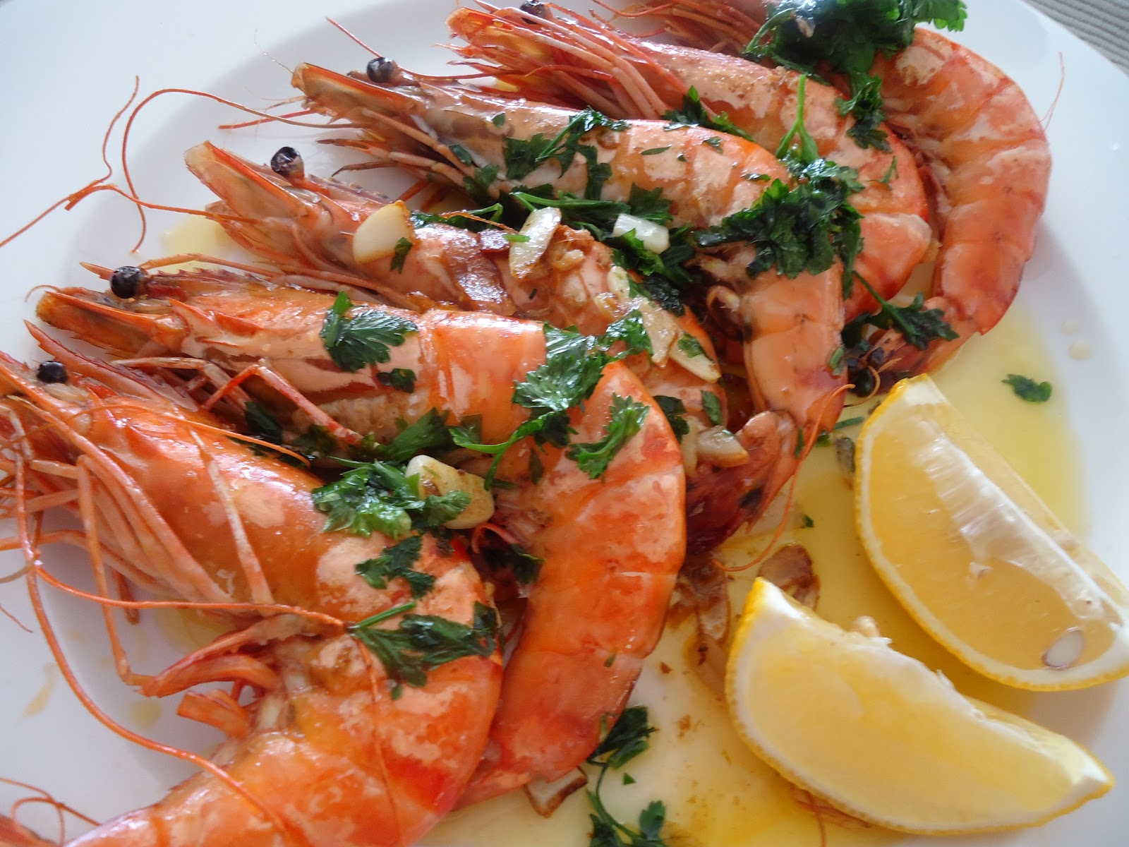 Simple food looking good gambas a la plancha for Cuisine 0 la plancha