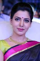 Samantha Ruth Prabhu in Black Saree new Hairstyle