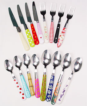 My sister 39 s cottage what 39 s your silver pattern - Funky flatware sets ...