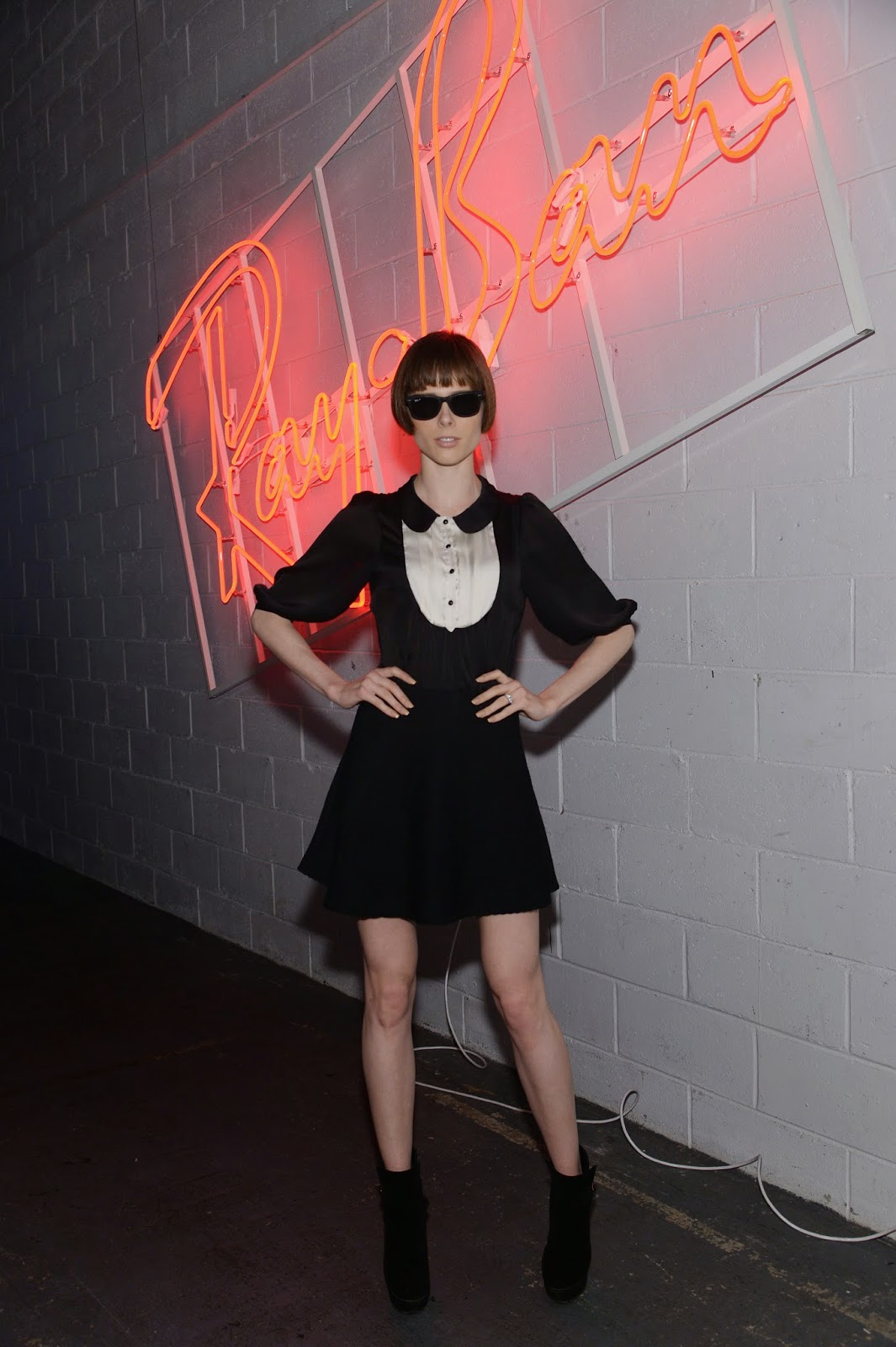 Ray-Ban's District 1937 Launch Event Coco Rocha