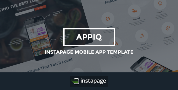 best Mobile App Landing Page Template