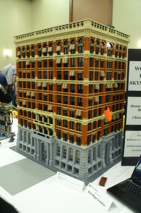 Architecturechicago plus jenney 39 s home insurance building lives on in lego build your own Build your home