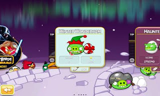 game Angry Birds Seasons Winter Wonderham