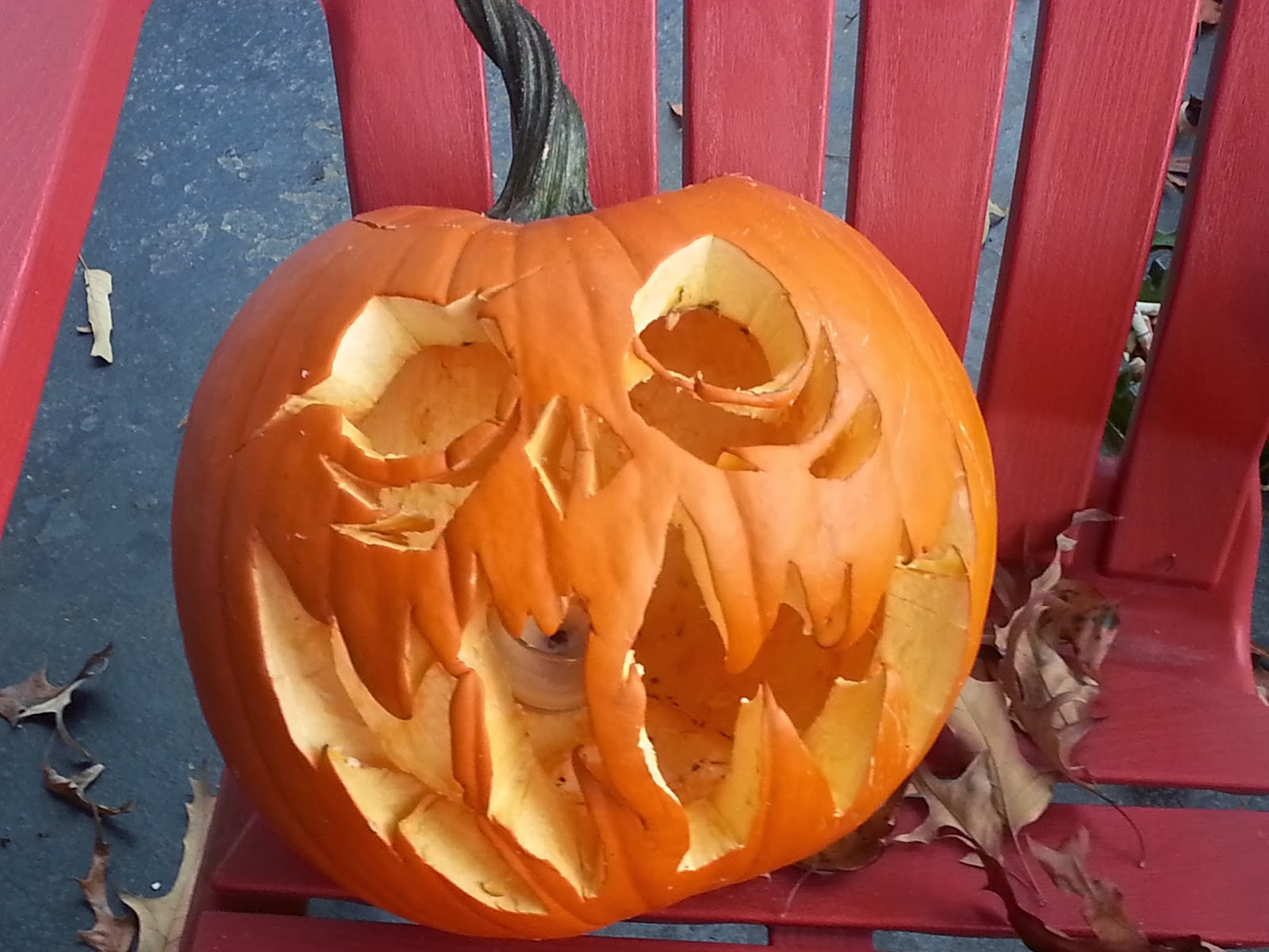 Mysterious Halloween Jack-o-lantern | Navigating Hectivity by Micki Bare