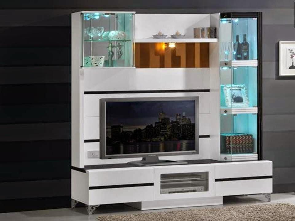 Tv Unit Design Ideas Home Decor Black And White TV Cabinet Design Ideas
