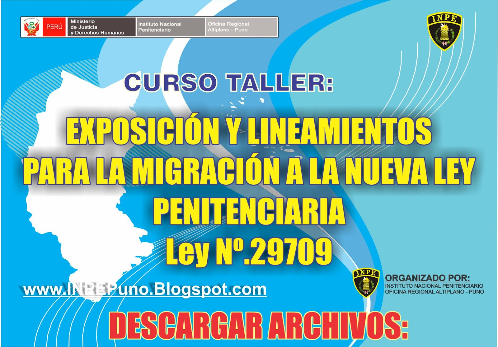 Inpe oficina regional altiplano puno descargar for Ley penitenciaria