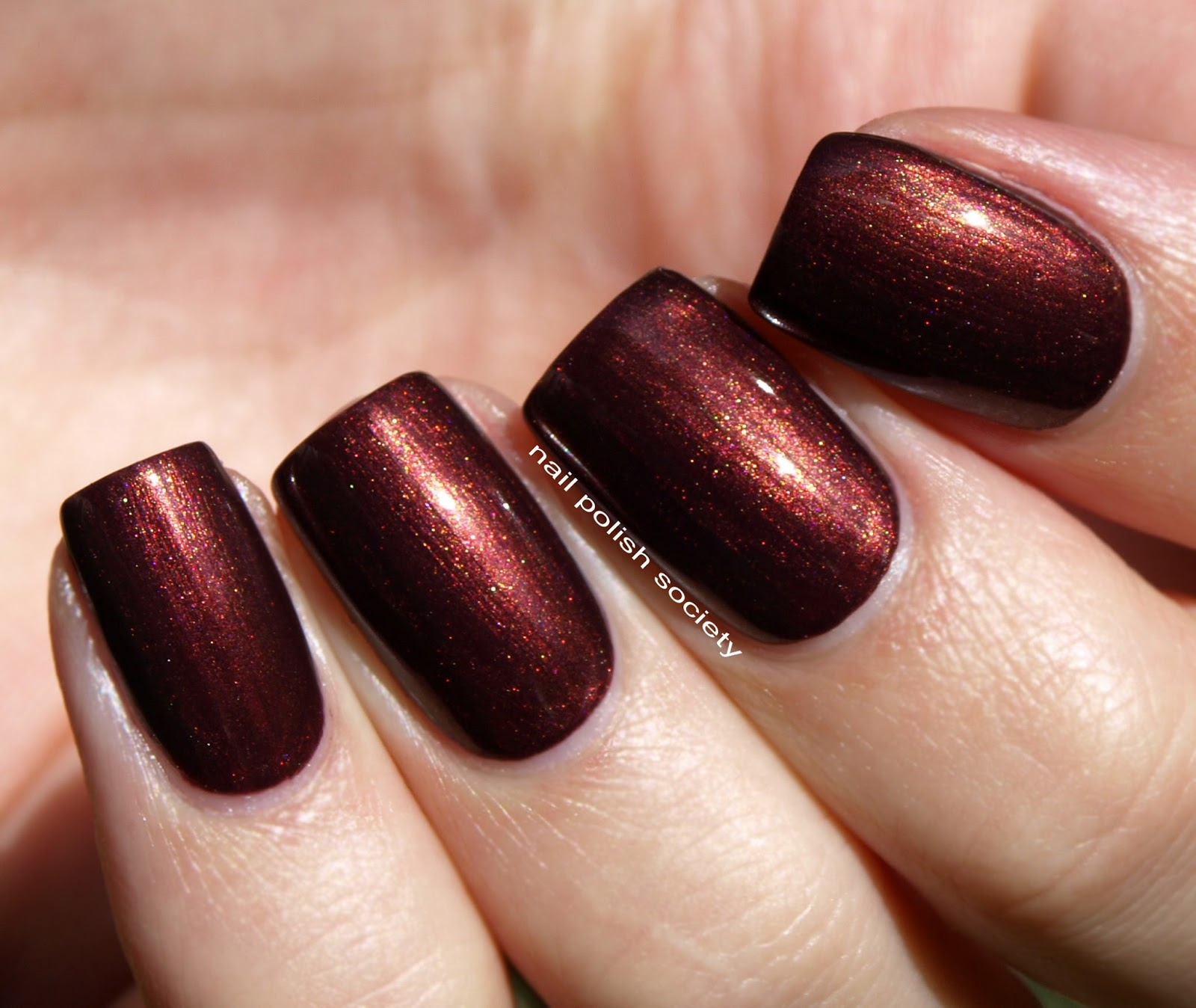 Nail Polish Society: Limited Edition Cinnamon Swirl from Clinique ...