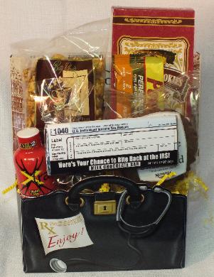 Accountant Gift Basket8