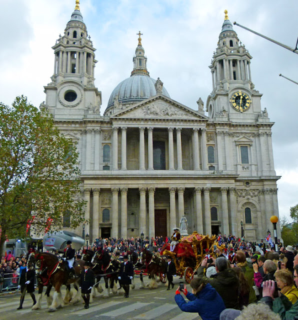 The State Coach, Lord Mayor, St Paul's Cathedral