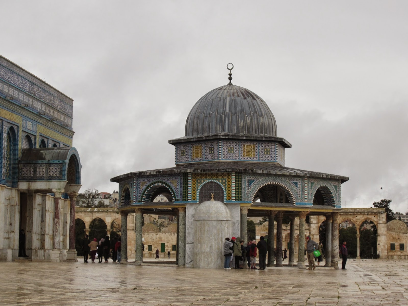 Dome of the Chain, Temple Mount, Jerusalem / Souvenir Chronicles