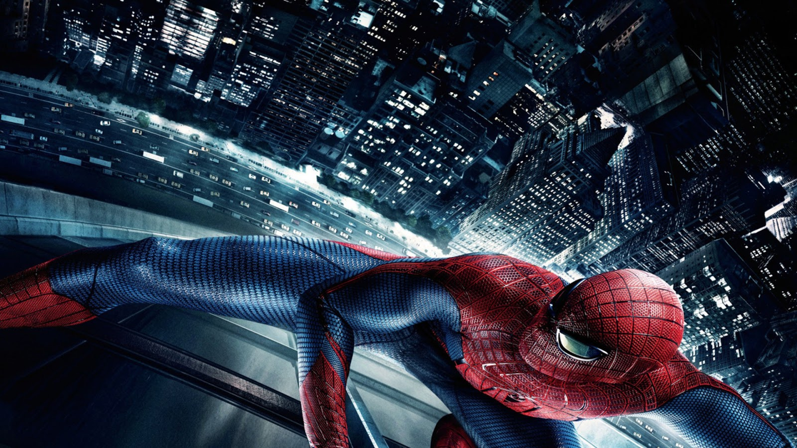 Spiderman on Building Wallpaper HD