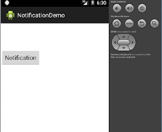 notification output 1