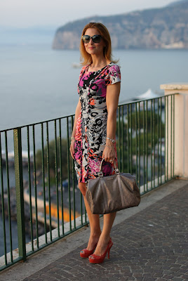 Hale Bob dress, Castaner shoes