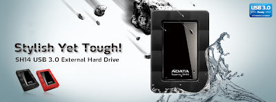 ADATA SH14 USB 3.0 External Hard Drive picture 1