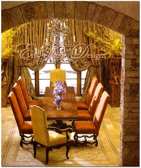 Tuscan interior design elements envouge designs for Tuscan interior designs