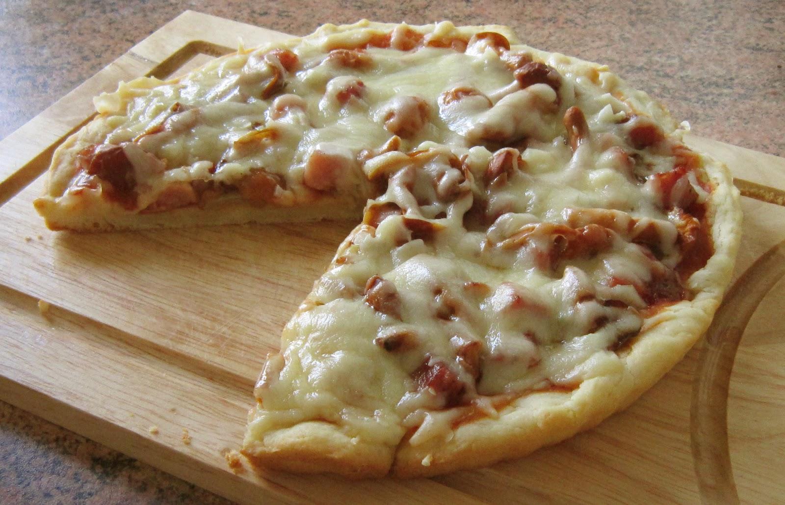 Дрожжевое сдобное тесто для пиццы (тонкая основа) - Дело Вкуса 49