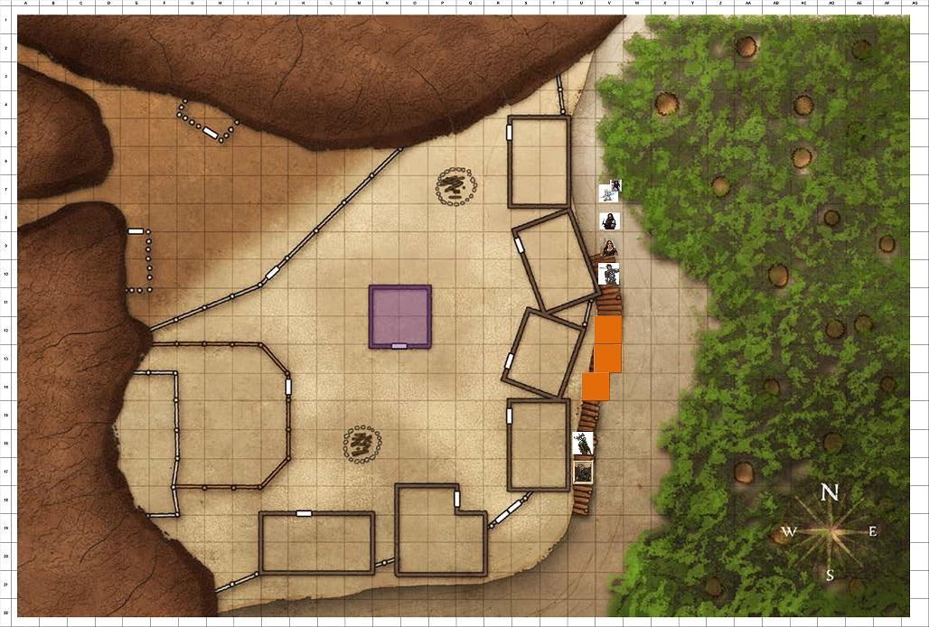Combat Map - Turn 33