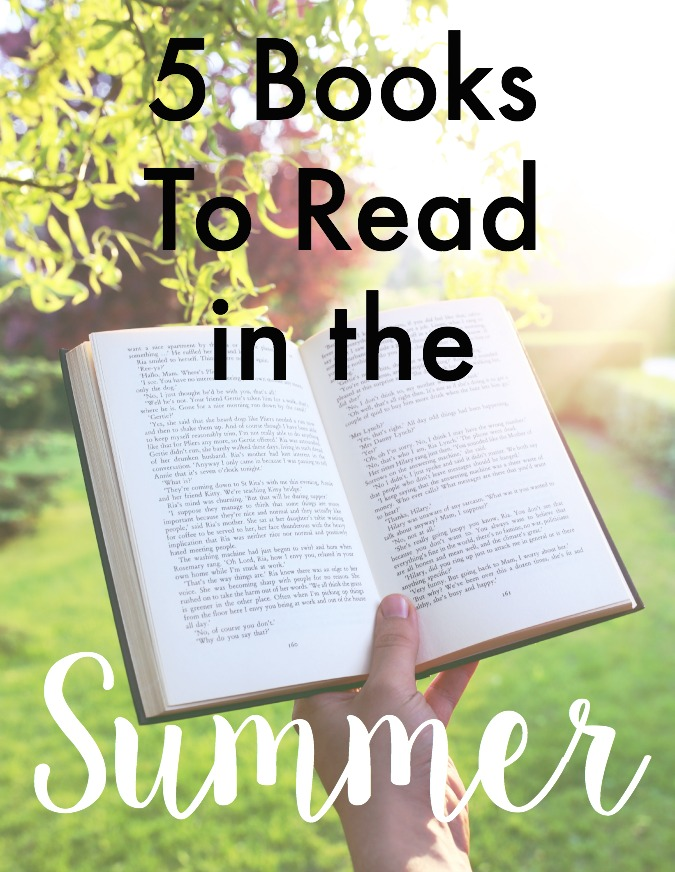 5 books to read in the summer