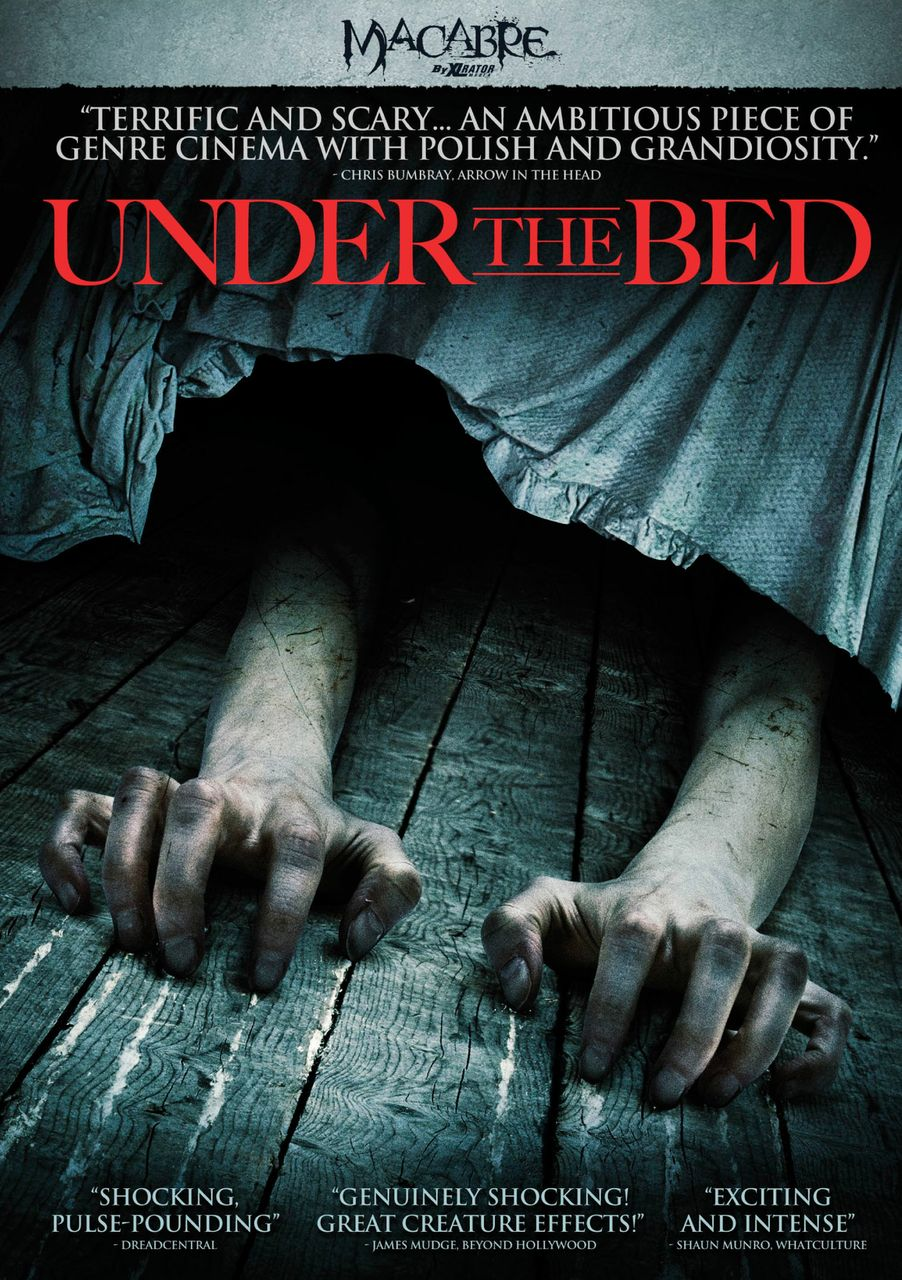 monster UNDER THE BED? Yes--and he's a scary one in Steven C. Miller