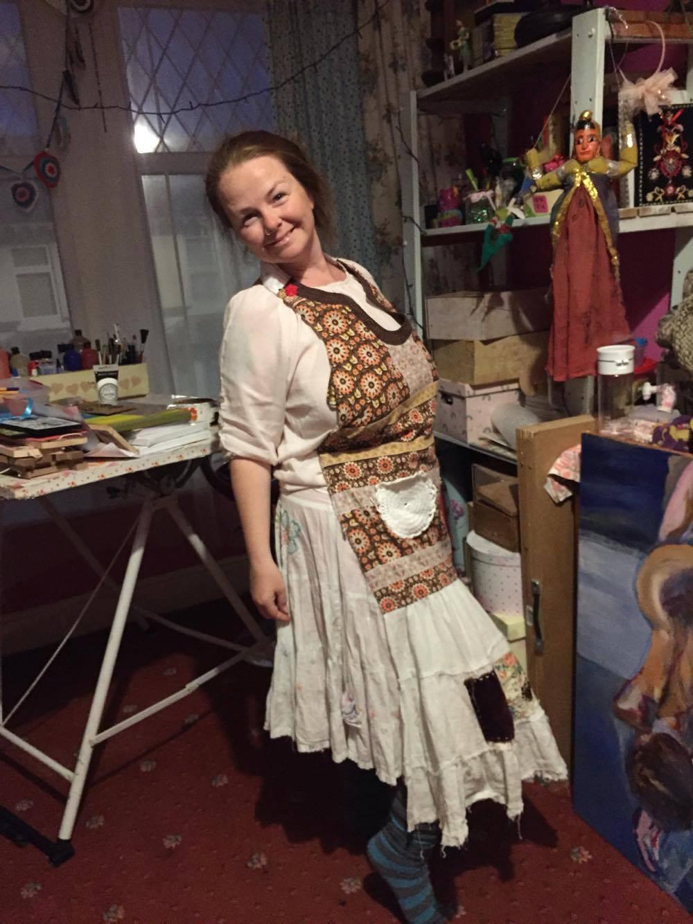 Every artist needs an apron ;)