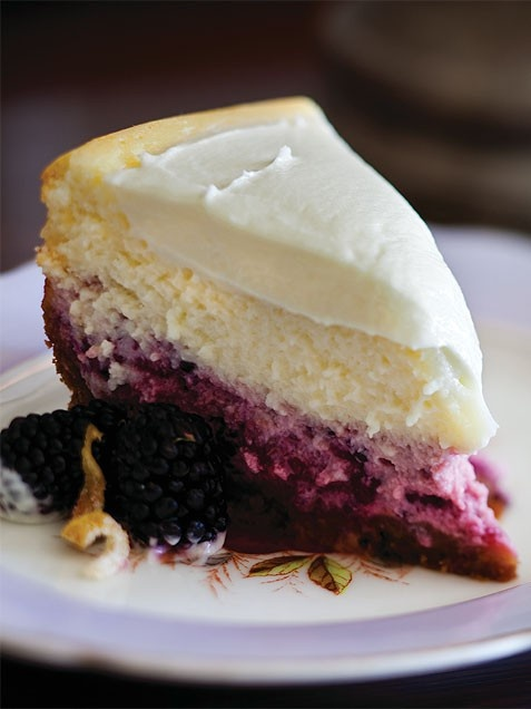 Lemon-Blackberry Cheesecake | Cook'n is Fun - Food Recipes, Dessert ...