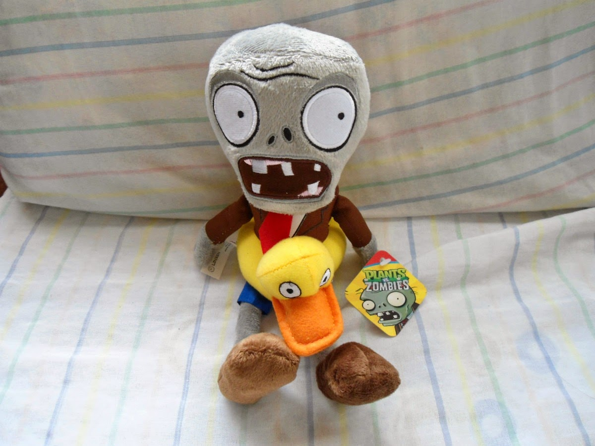Regalo, Niños, Plantas vs Zombies, Peluches, parte 2