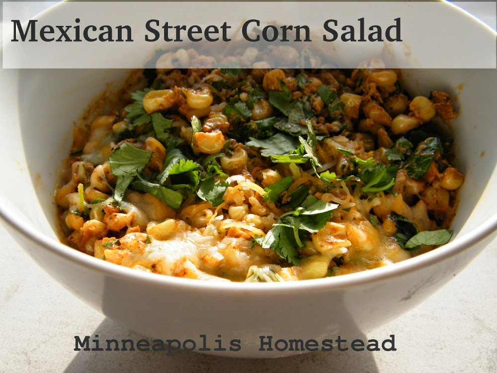 Minneapolis Homestead: Mexican Street Corn Esquites Salad Recipe ...