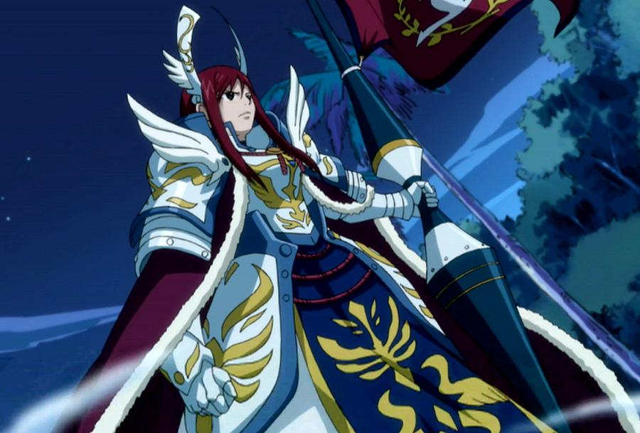 Fairy Tail Erza... Erza Scarlet Armor Types