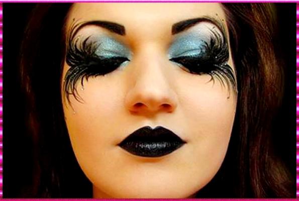 Maquillaje Halloween Deslumbrar En La Noche De Las Brujas Trucos - Maquillaje-bruja-para-nia